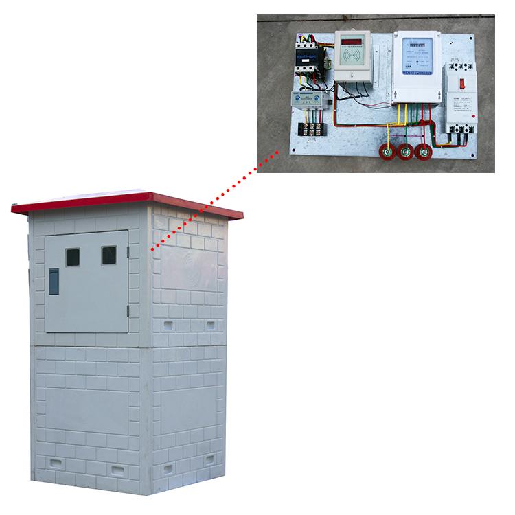 水电双计控制器 射频卡灌溉孔控制器10